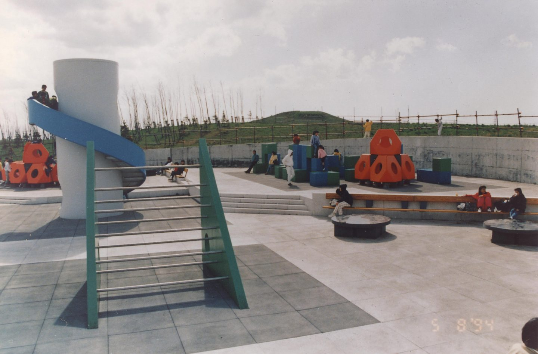 Noguchi's Playground Moerenuma Park in Sapporo,  Japan.