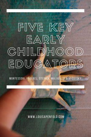 Five key early childhood educators: Froebel, Montessori, Steiner, Malaguzzi and Vygotsky