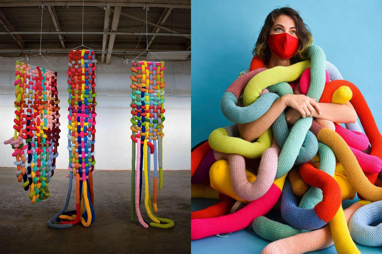 Fiber artist Katrina Sánchez Standfield