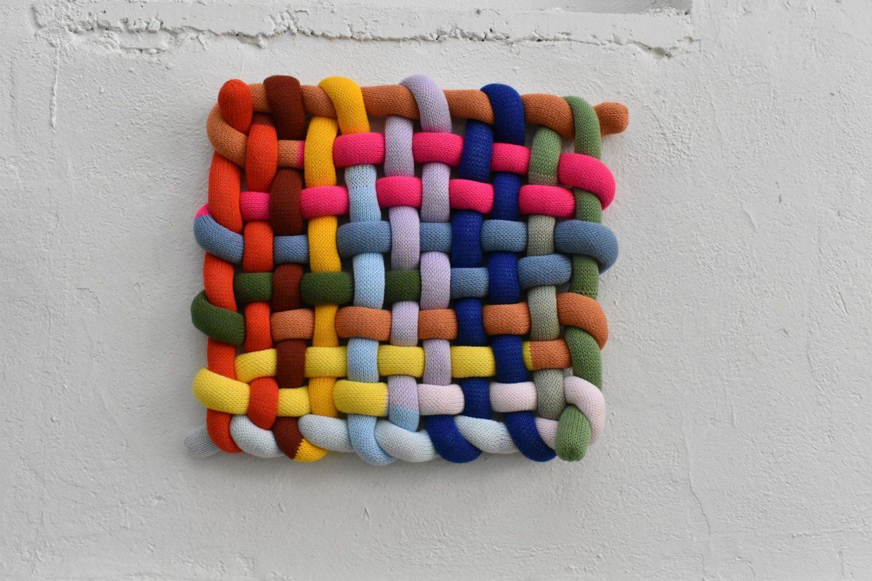 Katrina Sánchez Standfield weaving sculpture