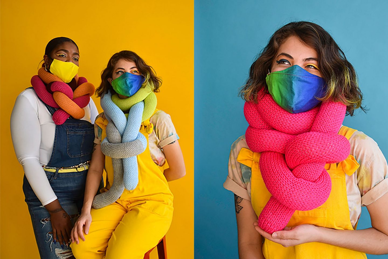 Katrina Sánchez Standfield handmade scarf